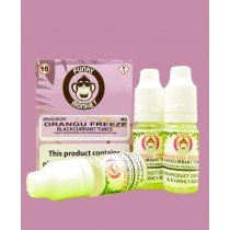 Funky Monkey E Liquid - Orangu Freeze - Blackcurrant Tunes - 3Mg - 3 x 10Ml - Exp 03/20