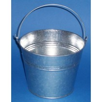 Galvanized Bucket With Handle - 14 Litres