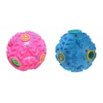 Pet Touch Dog Giggle Treat Ball - Blue/Pink