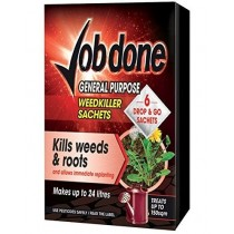 Job Done General Purpose Weed Killer Sachets - Pack of 6