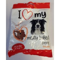Give A Dog A Treat - I Love My Meaty-Baked Bone Treats