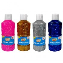 Creator Zone - Glitter Paint - Assorted Colours - 200ml - For Ages 6+