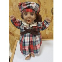 ORIGINAL COLLECTABLE GLOOBEE DOLL - SMALL - 30cm - DESIGNS VARY - PACKAGING DEFECTED