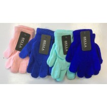 Bella Winter Gloves for Girls - Assorted Colours