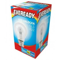 Eveready Halogen GLS - B22 Dimmable Bulb - 100W