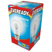 Eveready Halogen GLS - B22 Dimmable Bulb - 40W