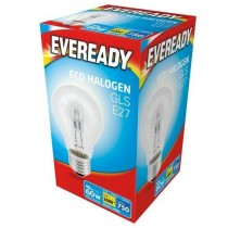 Eveready Halogen GLS - E27 Dimmable Bulb - 60W