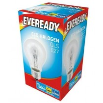 Eveready Halogen GLS - E27 Dimmable Bulb - 100W