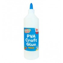 Creator Zone PVA Craft Glue - For Ages 3+ - 500ml