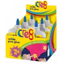 Cre8 Stick It Washable Children Arts & Crafts PVA Glue - White - 250ml