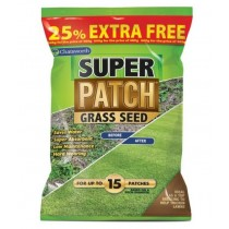 151 Chatsworth Super Patch Grass Seed - 25% Extra Free - 600g