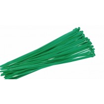 Green Cable Ties - 400mm x 6mm - Pack of 20