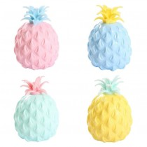 Pineapple Sensory Squishy Toy - Assorted Colours - 8cm x 5cm