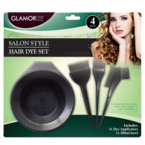 Glamorize Salon Style Hair Dye Set - Pack of 4
