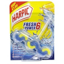 Harpic Fresh Power 6 Block for Toilet - Summer Breeze - 39G - Price Marked £1.69