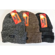 Warm Land Insulate Hat - Mixed Colours - One Size