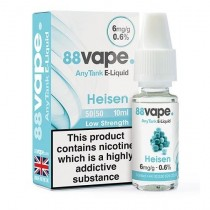 88 Vape Any Tank E Liquid - Heisen - 50/50 Pg/Vg - 6Mg - 10Ml