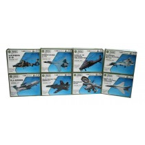 A to Z Build & Play Air Force Planes Model Kit - Assorted Models - 13 x 10 x 3.5cm - For Kids Age 8+