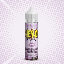 Hero Premium E Juice - Blackcurrant Menthol - 0Mg - 50Ml
