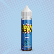 Hero Premium E Juice - Blue Slush - 0Mg - 50Ml