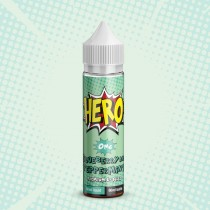 Hero Premium E Juice - Blueberry & Peppermint - 0Mg - 50Ml