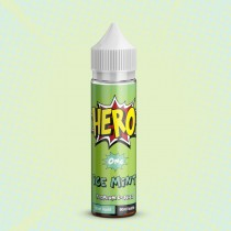 Hero Premium E Juice - Ice Mint - 0Mg - 50Ml