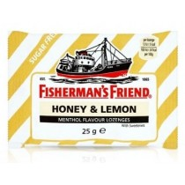 Fisherman's Friend - Honey & Lemon - Extra Frische Menthol - Pastillen - 25 Grams