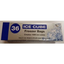 TIDYZ ICE CUBE FREEZER BAGS - PACK OF 36