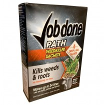 Job Done Path Weed Killer Sachets - Pack of 6