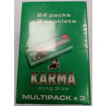 Karma Finest Quality Rolling Paper - King Size - Pack of 24