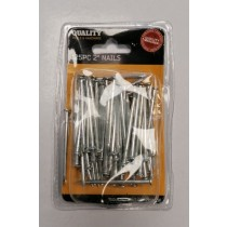"""Quality Tools & Hardware 2"""" Nails - Pack of 125 Pieces"""