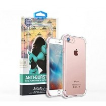 King Kong Armour Super Protection Anti-Burst Premium Quality Gel Case for Iphone XR - Clear