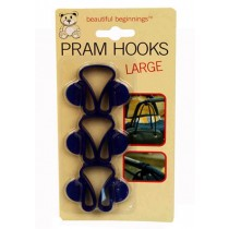 Pram Hooks - Large - Pack Of 3