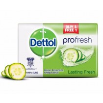 Dettol Pro-Fresh Antibacterial Bar Of Soap - Lasting Fresh - 105g