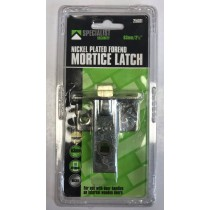 Specialist Security Nickle Plated Forend Mortice Latch with Screws - 2.5Inch - 19 x 10cm