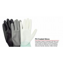 Quality Non Slip Work General Purpose Latex Coated Gloves - Large