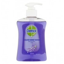 Dettol Anti-Bacterial Liquid Hand Wash - Dermatologically Tested - Care Lavender - 250ml - Exp: 08/21