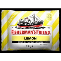 Fisherman's Friend - Lemon - Extra Frische Menthol - Pastillen - 25 Grams