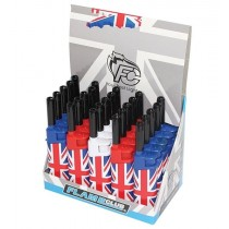 Flame Club Union Jack Utility Gas Reusable Lighter - Assorted Colours