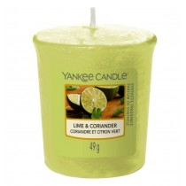 Yankee Candle - Samplers Votive Scented Candle - Lime & Coriander - 50g