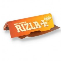 Rizla Rich Liquorice Ultra Thin Regular Cigarette Paper - Pack of 3 Booklets