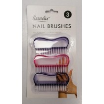 Lisseau - Nail Brushes - Pack of 3