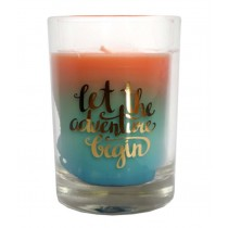 Scented Candle - Let the Adventure Begin - 85g