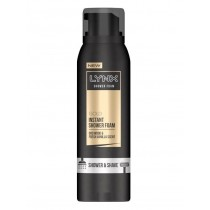 Lynx Gold - Instant Shower Foam - Oud Wood & Fresh Vanilla Scent - 200ml