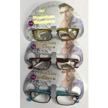Prescription Based Designer Premium Readers Glasses for Men +3.50 - Designs & Colours May Vary