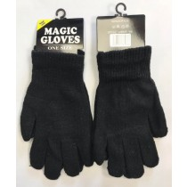 Warm Land Magic Gloves - Black - One Size