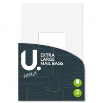 U Send Extra Large Mailing Bag - 50 X 65 cm - Pack Of 2