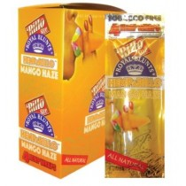 Hemp A Rillo Tobacco Free Royal Blunts - Pack of 15 - Mango Haze