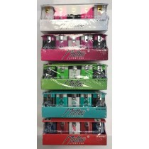 Matteo Double Flame Lighters - Colours/Designs May Vary