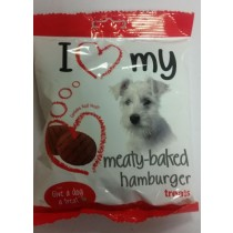 Give A Dog A Treat - Meaty-Baked Hamburger Treats - Contains Real Meat